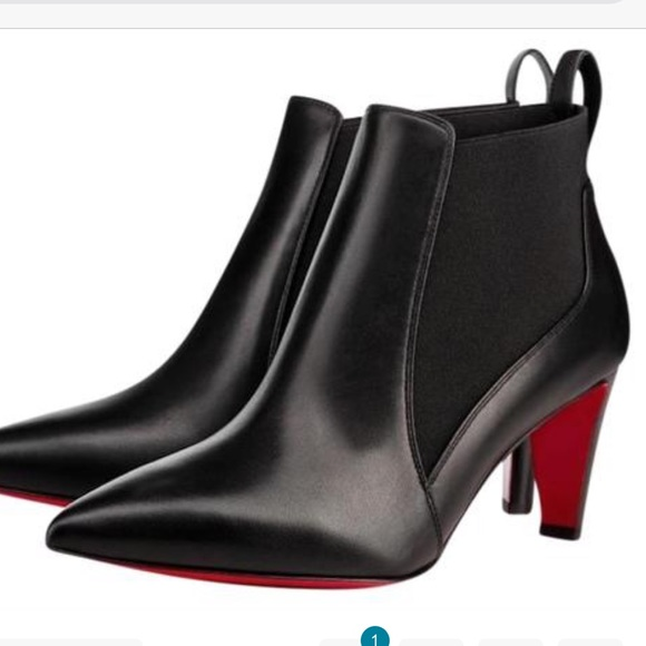 size 40 9d8e6 01bac Authentic Christian Louboutin Ankle Boots